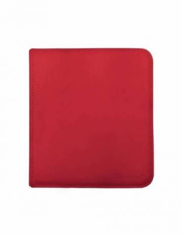 Binder Zippered (12 Bolsillos) Rojo - Ultra Pro