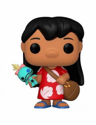 Figura POP Lilo & Stitch Disney: Lilo with Scrump 9 cm