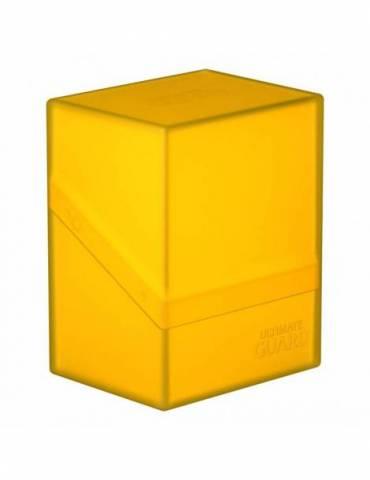 Caja Ultimate Guard: Boulder Deck Case 80+ Ámbar