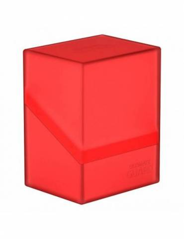 Caja Ultimate Guard: Boulder Deck Case 80+ Rubí
