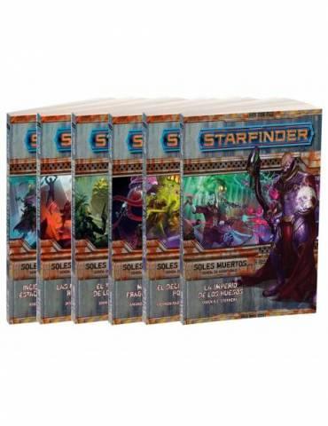 Starfinder Soles Muertos (Pack de 6 libros)
