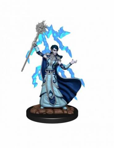 D&D Icons of the Realms Premium Figures: Elf Wizard Female