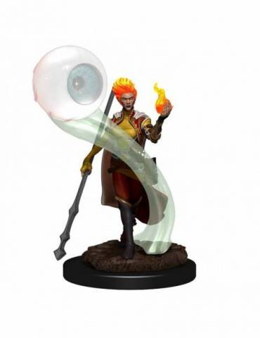 D&D Icons of the Realms Premium Figures: Fire Genazi Wizard Fema