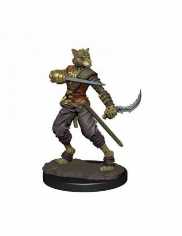 D&D Icons of the Realms Premium Figures: Tabaxi Rogue Male