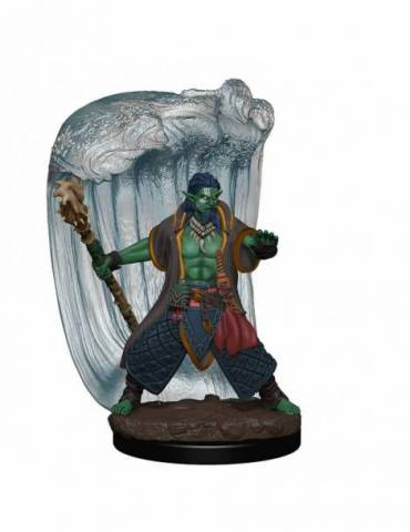 D&D Icons of the Realms Premium Figures: Water Genasi Druid Male