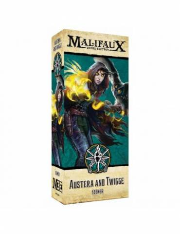 Malifaux Explorers Society: Austera and Twigge