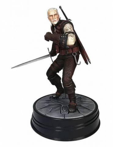 Estatua Witcher 3 Wild Hunt: Geralt Manticore 20 cm