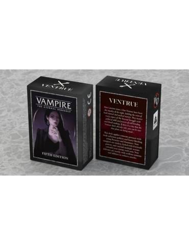 Vampire Eternal Struggle 5th Edition: Ventrue (Inglés)