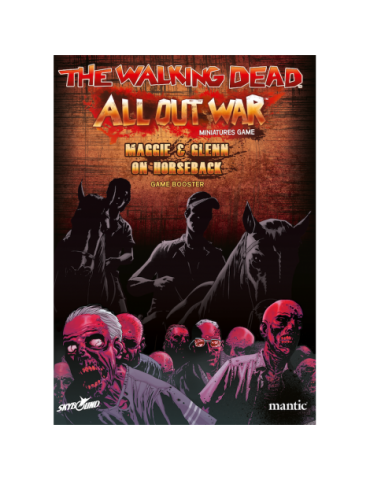 The Walking Dead: All Out War - Booster Maggie y Glenn a caballo (W5)
