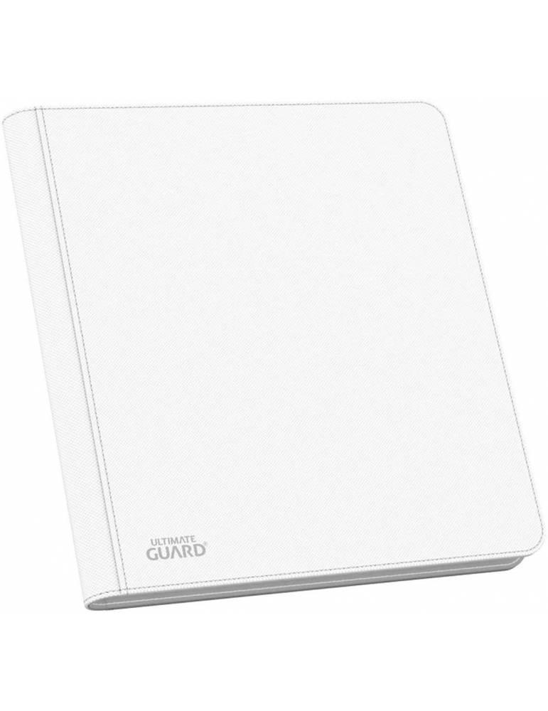 Álbum 12 Ultimate Guard - Pocket QuadRow Zipfolio XenoSkin Blanco