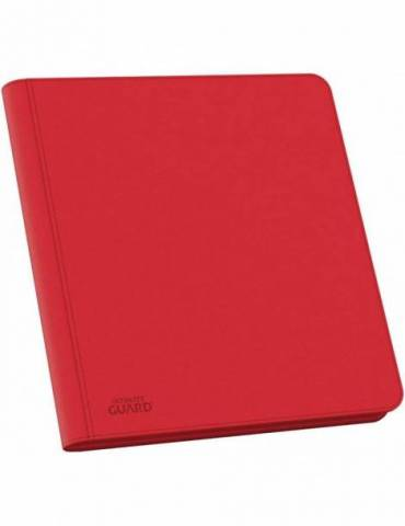 Álbum 12 Ultimate Guard - Pocket QuadRow Zipfolio XenoSkin Rojo