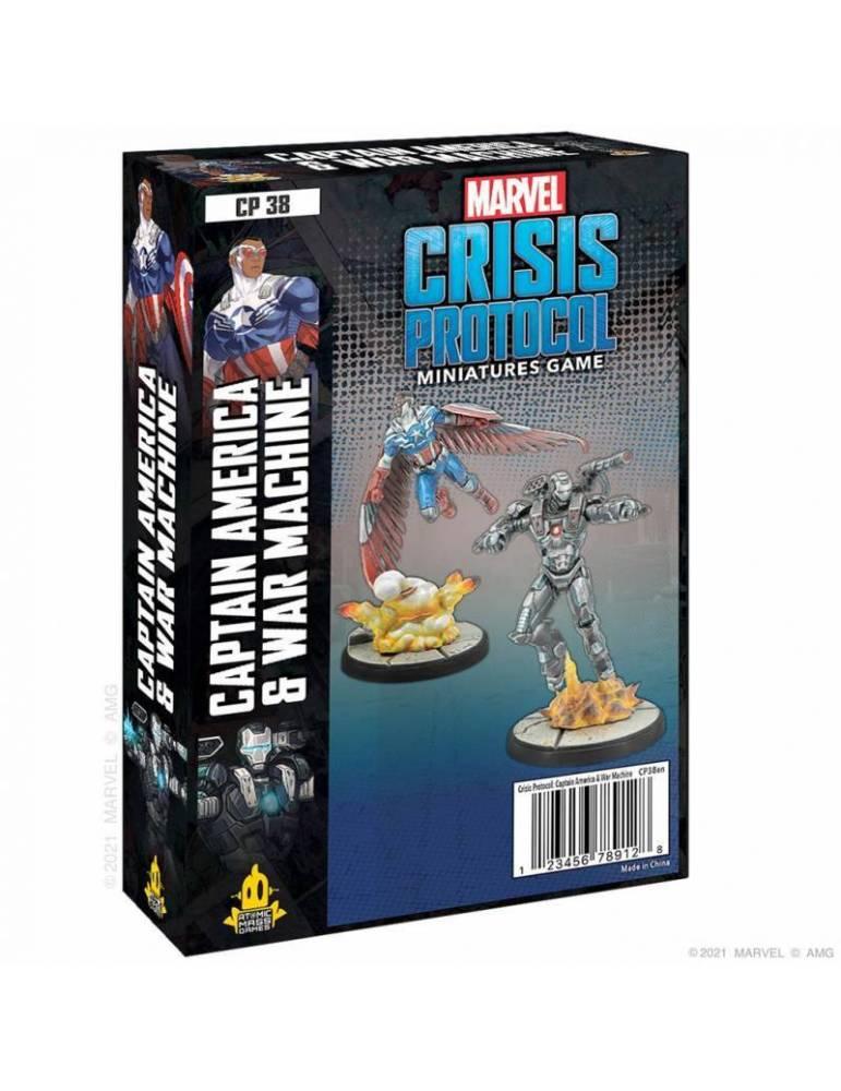 Marvel Crisis Protocl: Captain America & War Machine