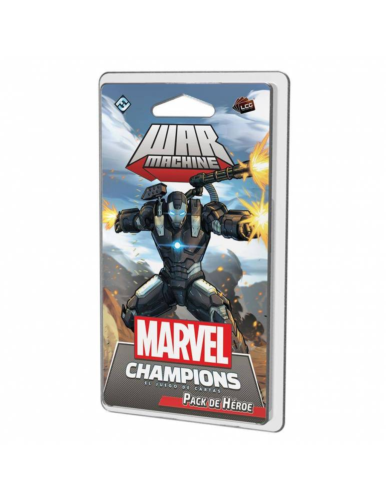 ¡Marvel Champions: War Machine (Castellano)