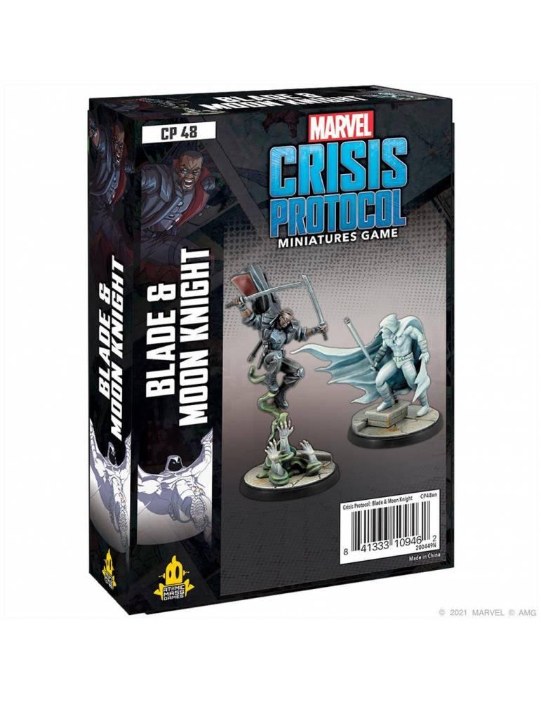 Marvel Crisis Protocol: Blade & Moon Knight
