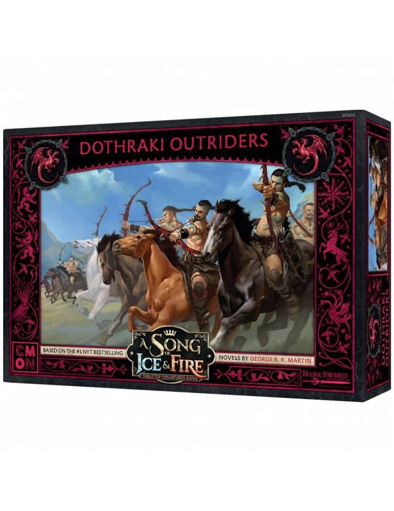 Canción de Hielo y Fuego el juego de miniaturas: Batidores Dothraki