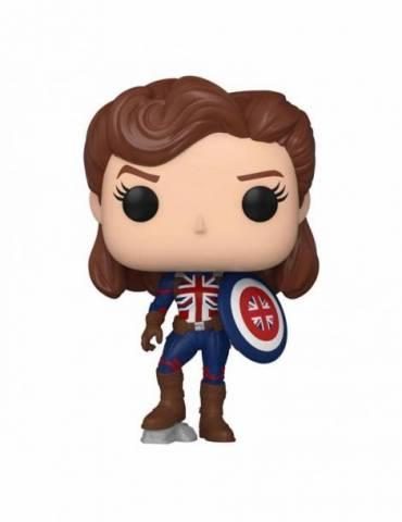Figura POP What If...? Marvel: Captain Carter 9 cm