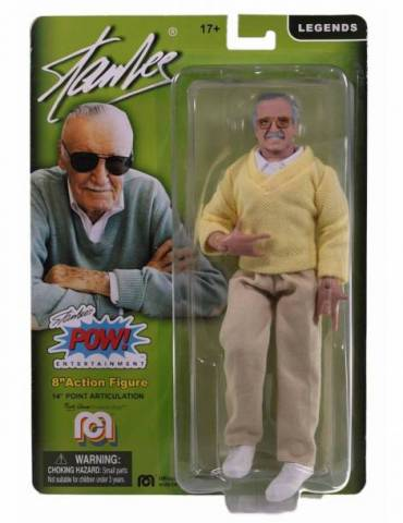 Figura Marvel Comics: Stan Lee Sweater W Spider Hands Retro 20 cm