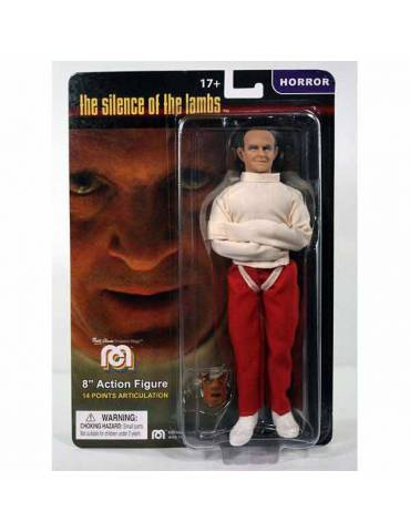Figura silence of the Lambs: Hannibal Lecter In Straight Jacket Retro 20 cm