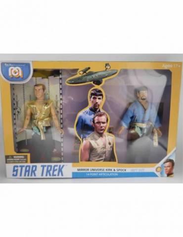 Set de 2 figuras Star Trek: Set Spock & Kirk Playset Retro 20 cm