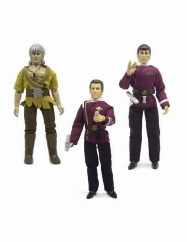 Set de 3 figuras Star Trek: Set Wrath of Khan Retro 20 cm