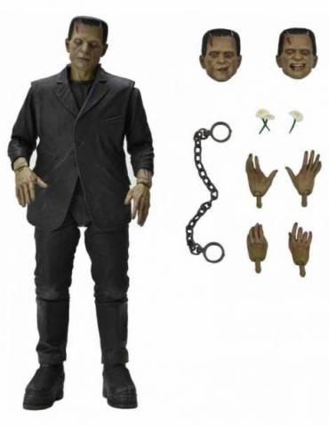 Figura Universal Monsters Scale Action Figure: Ultimate Frankenstein Monster (Color) 18 cm