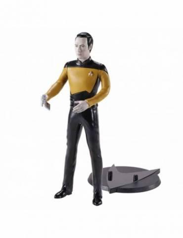 Figura Bendyfig Star Trek: Data Flexible 18 cm