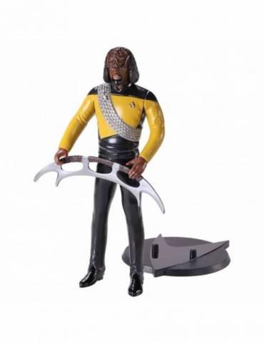 Figura Bendyfig Star Trek: Worf Flexible 18 cm