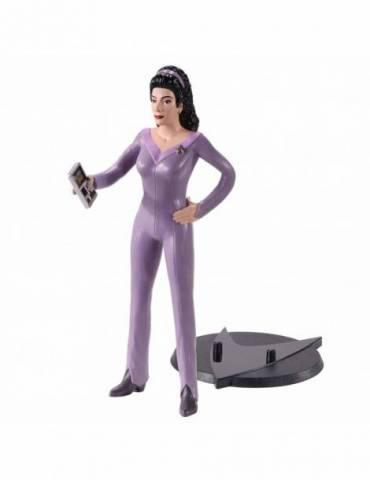 Figura Bendyfig Star Trek: Deeana Troi Flexible 18 cm