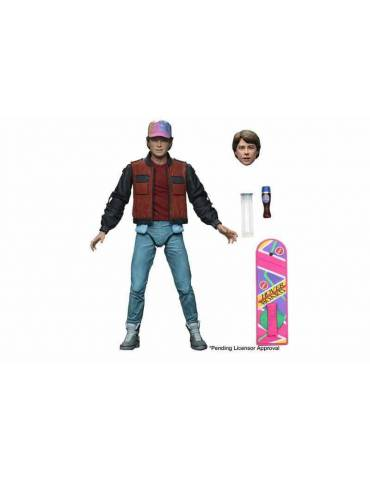 Figura Scale Action Figure Back to the Future 2: Marty Mcfly 18 cm