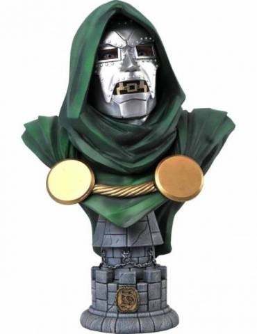 Busto de Resina 1/2 Scale Legends In 3D Marvel Comics: Doctor Doom 25 cm