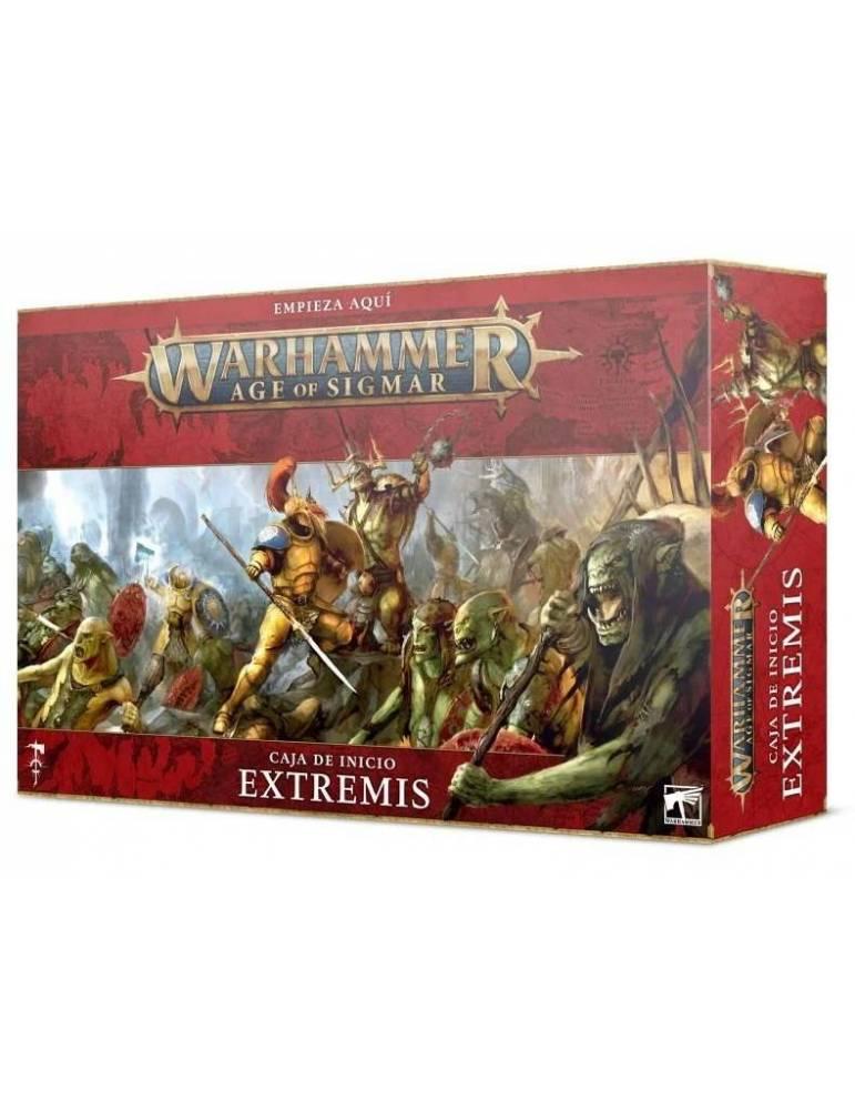 Caja de inicio Warhammer Age of Sigmar: Extremis (Castellano)
