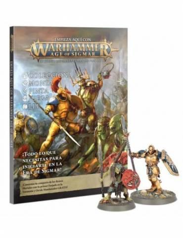 Empieza aquí con Warhammer Age of Sigmar (Castellano)