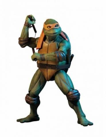 Figura Tortugas Ninja: Michelangelo 42 cm