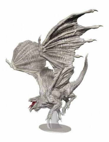D&D Icons of the Realms: Adult White Dragon