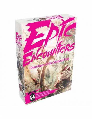 Epic Encounters: Chambers of the Serpent Folk (Inglés)