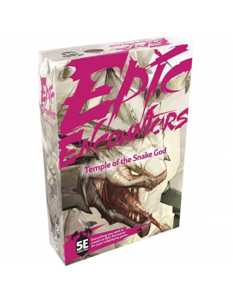 Epic Encounters: Temple of the Snake God (Inglés)