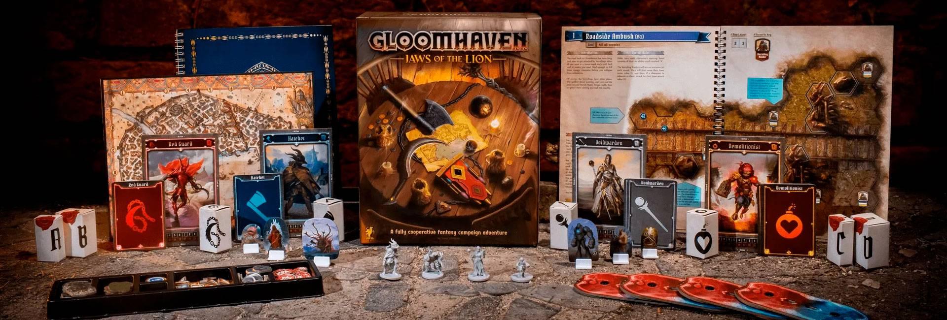 Gloomhaven: Fauces del León
